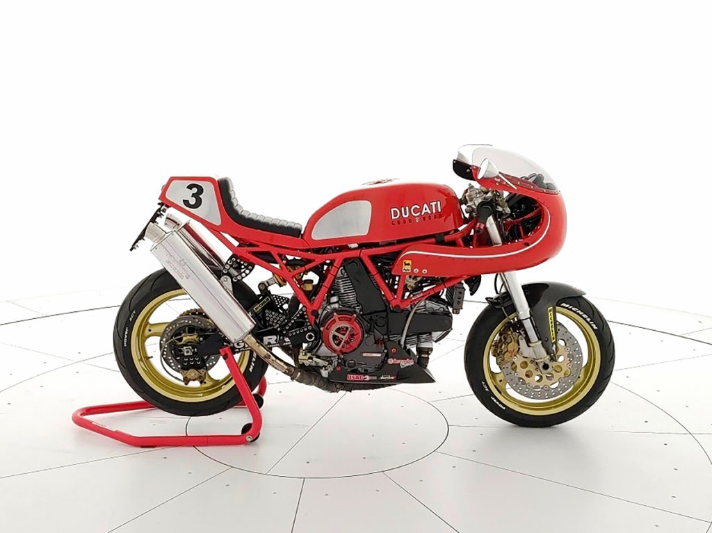 HOMAGE TO THE GLORY DAYS: Ducati 900SS 'Goodwood'.