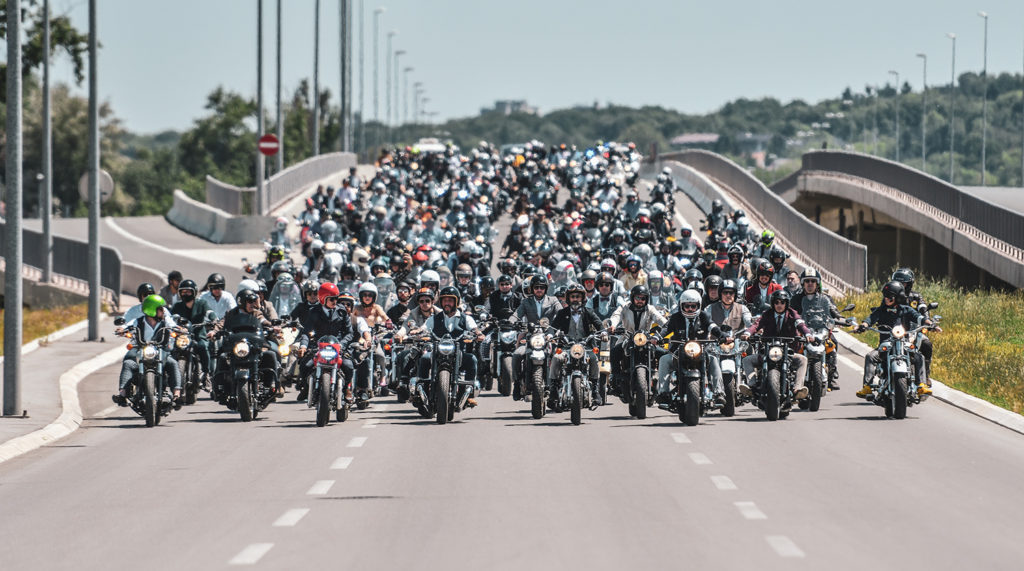 Tens of thousands ride at the 10th Distinguished Gentleman's Ride.