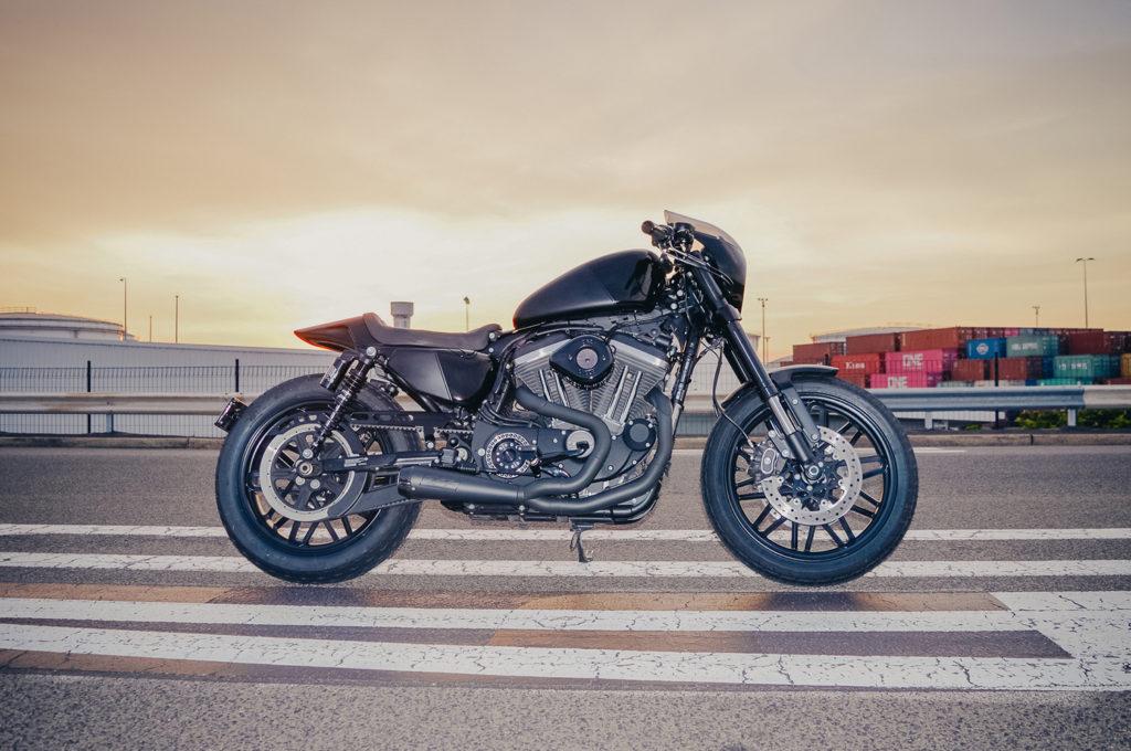 MR BUNGLE: Harley-Davidson Roadster by Gasoline Motor Co.