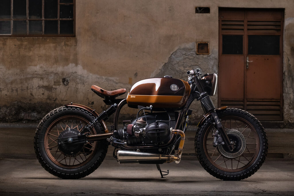METICULOUS: 1983 BMW R100 by Incerum Customs.