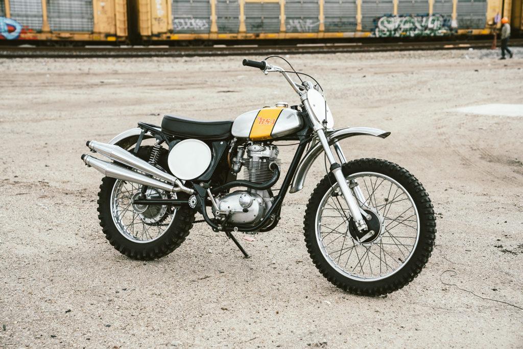 BIRMINGHAM BEAUTY: 1972 BSA B50MX 'Museum bike'.
