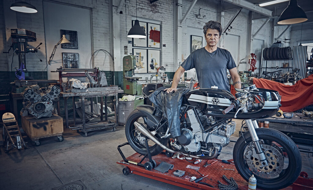 INTERVIEW WITH CUSTOM MOTORCYCLE BUILDER WALT SIEGL.