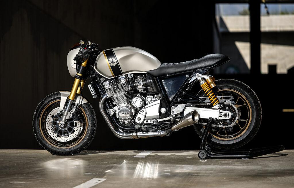 BEAST MODE: Yamaha XJR1300 'Buffalo' by Gas & Retro.