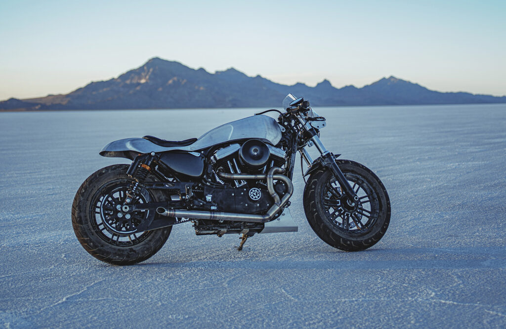 BUILT FOR GOOD: Win this custom Harley-Davidson Forty-Eight.