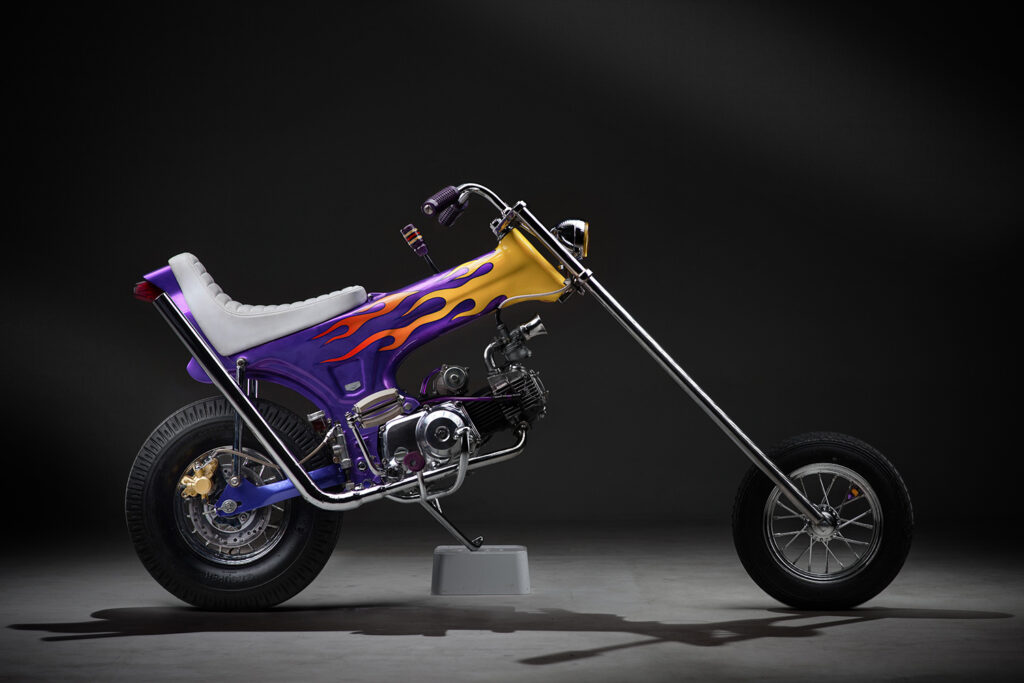 FUN SIZED: Honda Dax chopper by Lemb Inc.