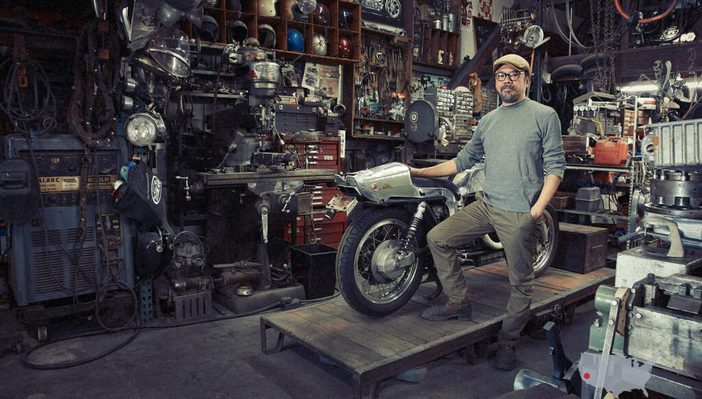 The Motorcycle Portraits by David Goldman.