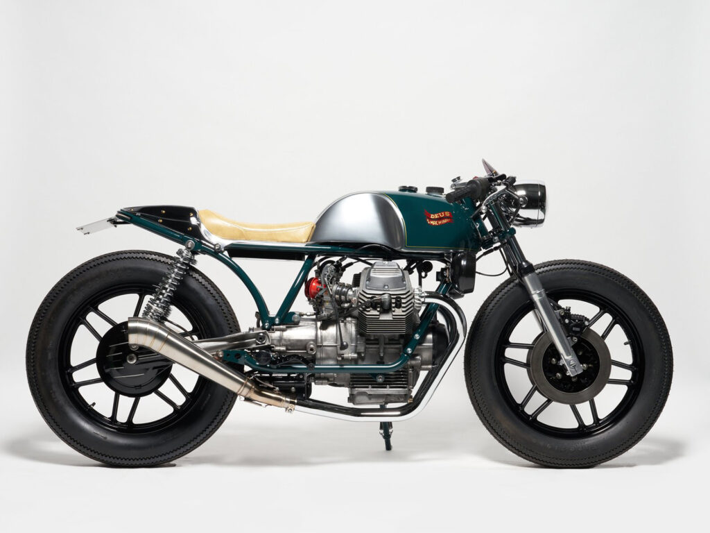 FULLY LOADED: Moto Guzzi V50 MK2 'BERETTA' By Deus.