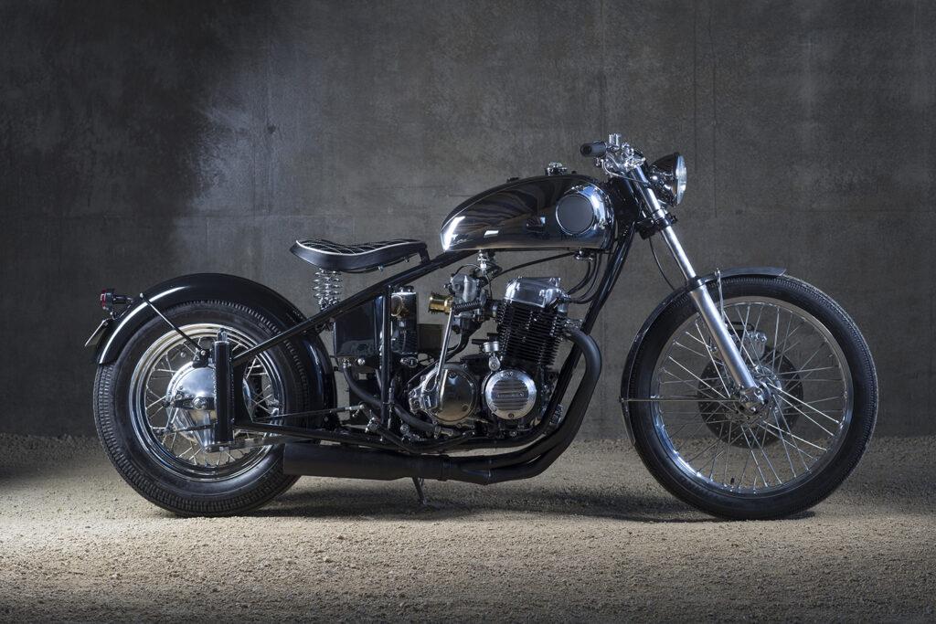 OLD-SCHOOL CHARM: Honda CB750 by Sabotage Motorcycles.