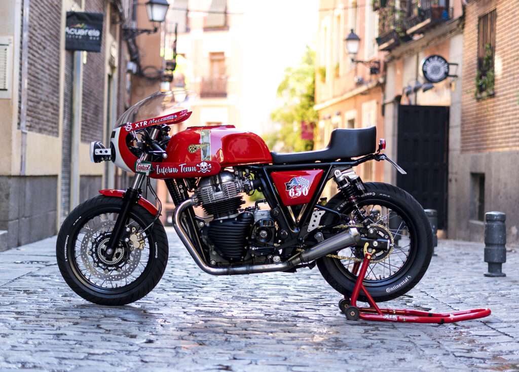 ROYAL RACER: Continental GT 650 'Lilith' by XTR Pepo.