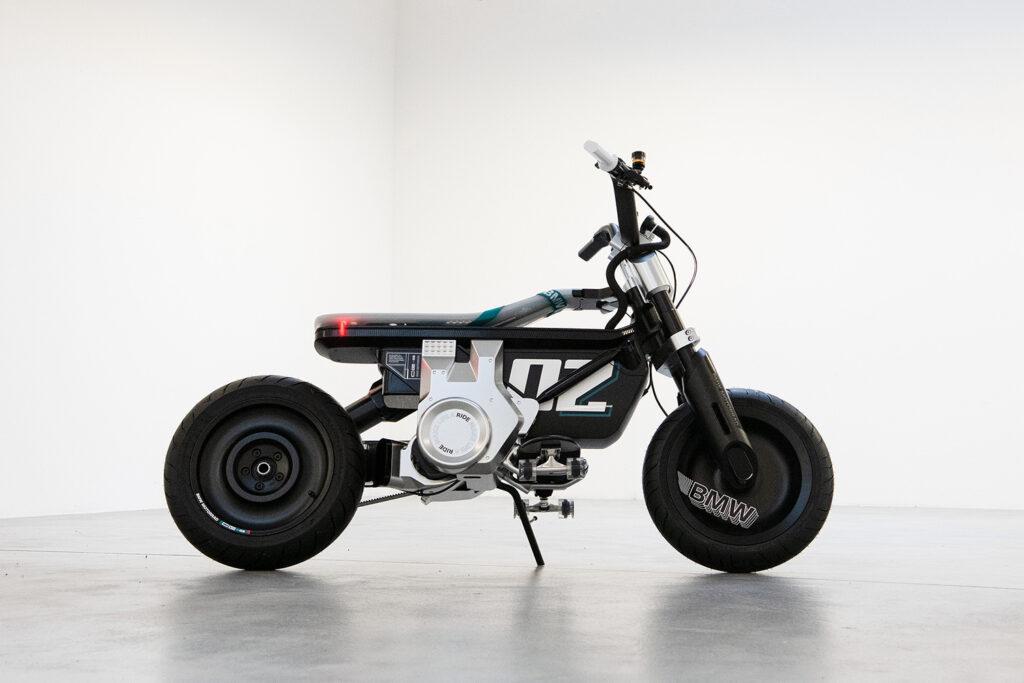 GENERATION E: BMW Motorrad Concept CE 02 electric bike.