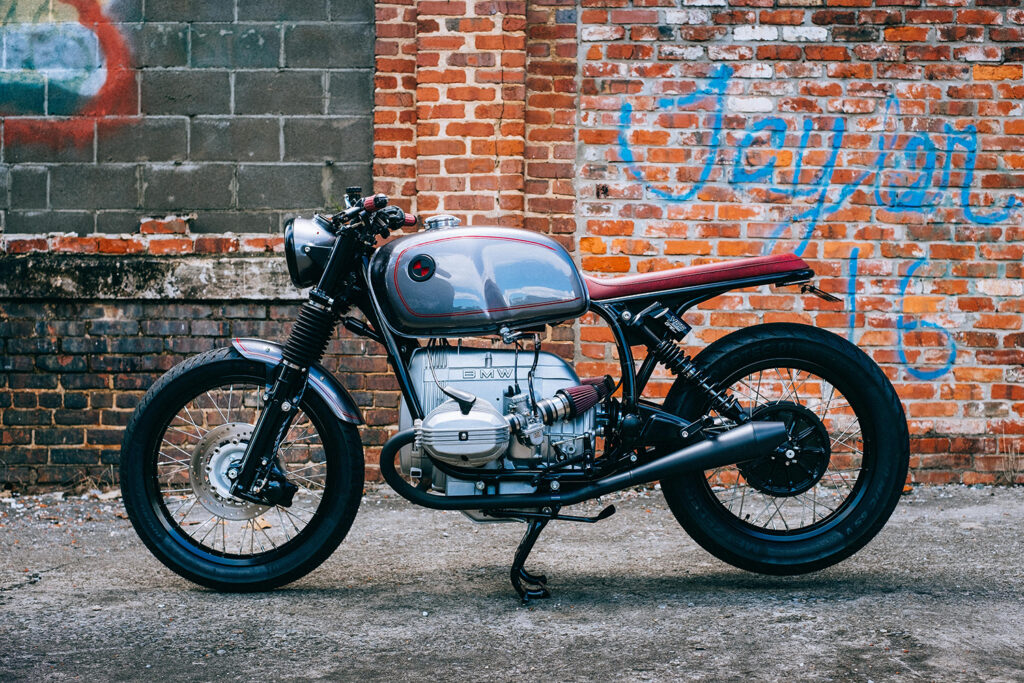 CLEAN SLATE: BMW R80RT by Analog Motorcycles.
