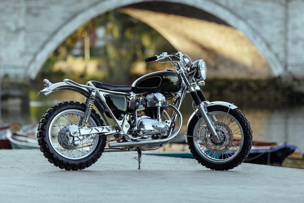 WELL-BRED SLED: Kawasaki W650 by DDM.